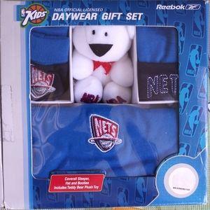 NJ Nets Baby Daywear Gift Set (Official Licensed)